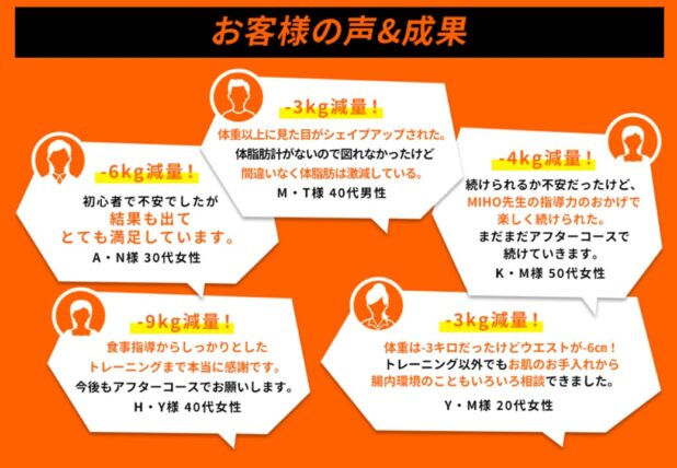 MIHOオンライン口コミ